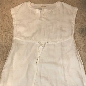 Eileen Fisher Exclusive White Dress - NWT Petite S